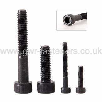 "1/4"" UNF Socket Caphead Screws - High Tensile Steel"