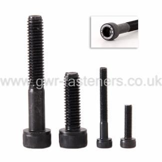 10-24 UNC Socket Cap Head Bolts - Grade 5 High Tensile