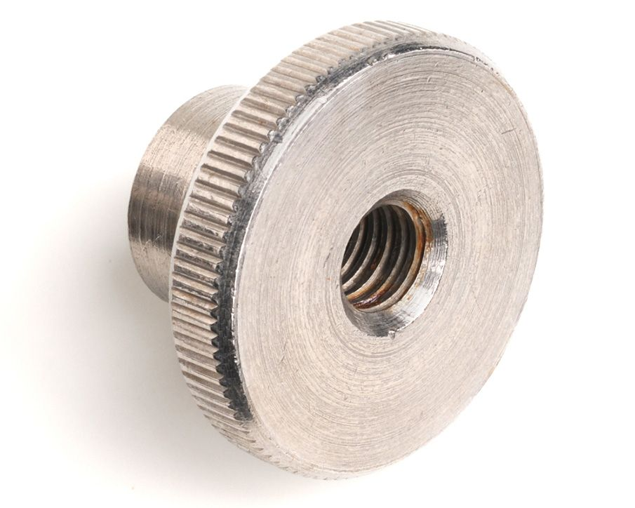 M6 Knurled Thumb Nut High Type DIN 466 - A1 Stainless Steel