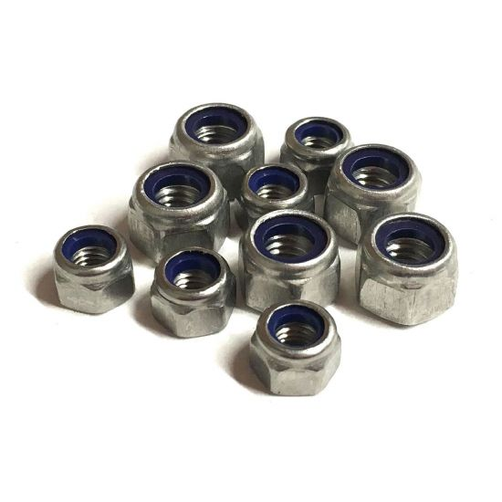 Metric P Type Nyloc Nuts - DIN 982