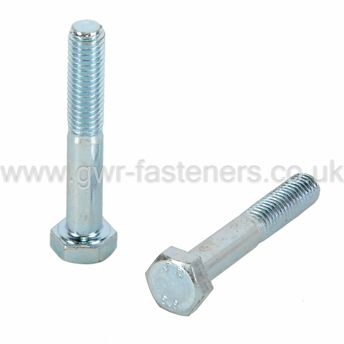 UNF Hexagon Bolts - 8.8 Bright Zinc Plated Steel